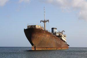 خوردگی کشتی دریایی