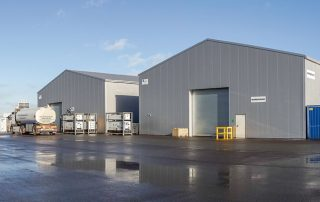 alkyd coating - warehouses painting