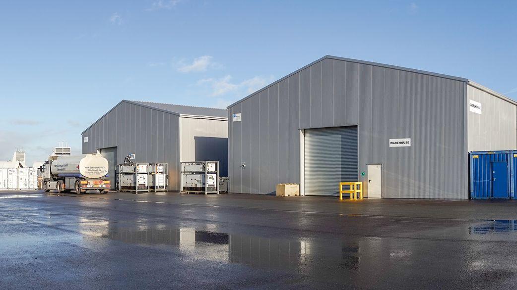 alkyd coating - warehouses painting