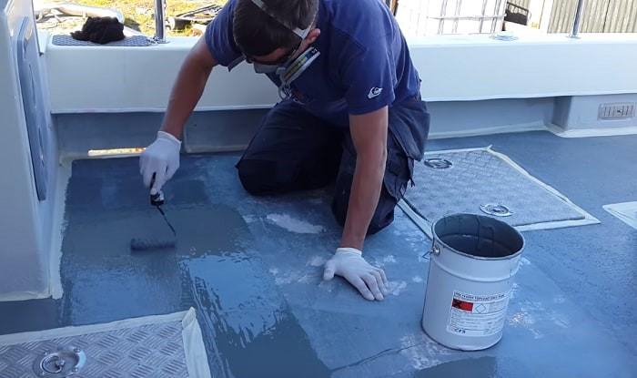 seastock paint - ship board maintenance