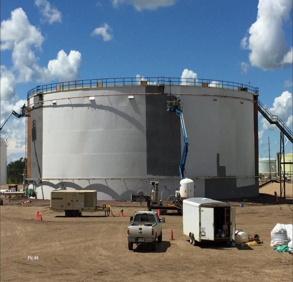 zinc phosphate epoxy primer - storage tanks